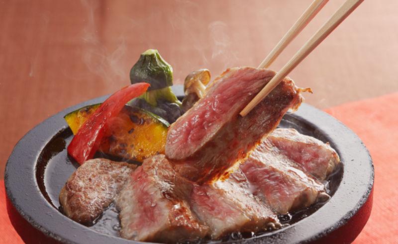 【A4ランク・村上牛を堪能】陶板焼き&タンシチュー☆極上お肉プラン