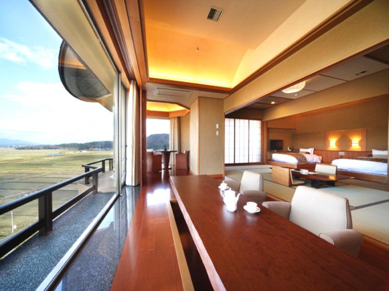 【平日2組限定の贅沢体験】スイートルームの別邸越の里お泊りプラン