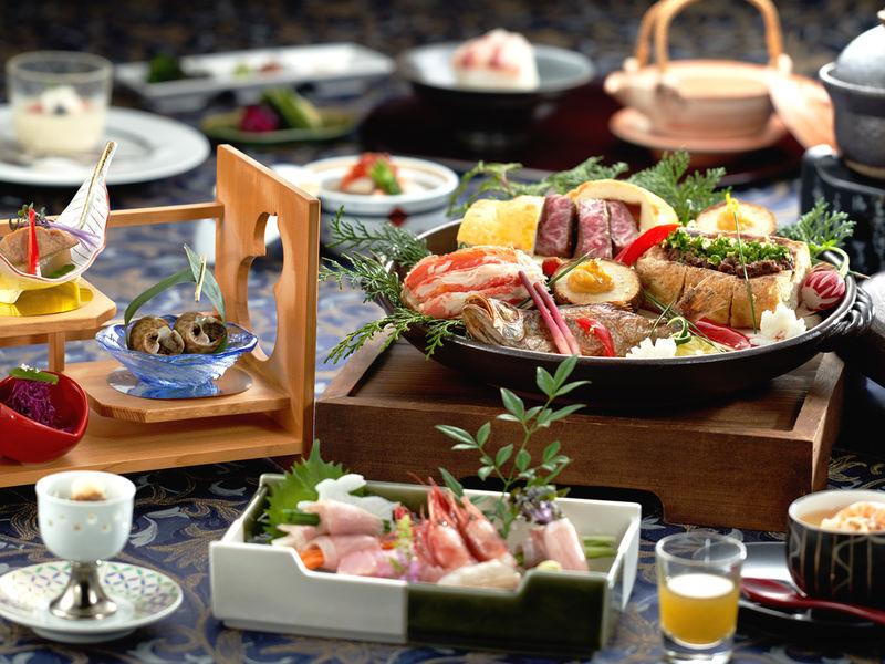 新潟ならでは 美味しいお料理を堪能!豪華にいがた三昧会席【1日5組限定】