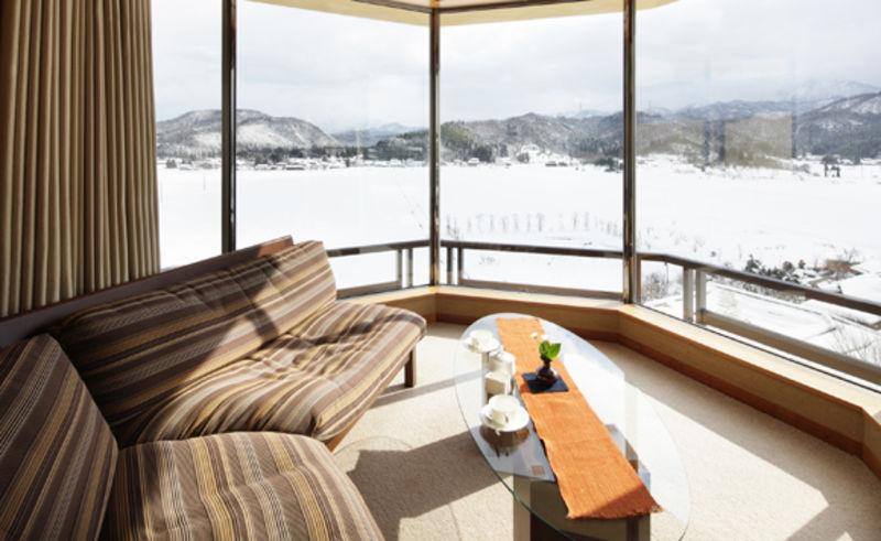 6階檜内風呂付客室タイプ