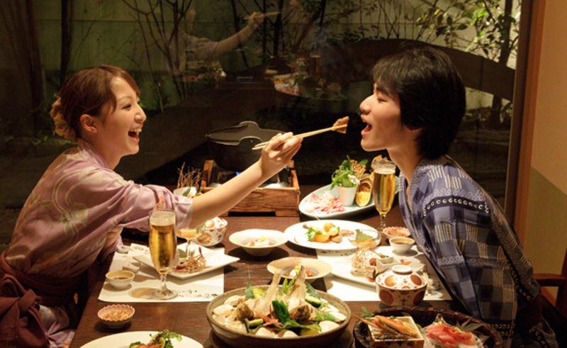 大人の極上リゾートで過ごす☆恋する二人のカップル・MOET&CHANDON付